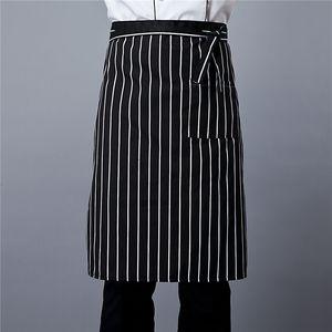 Chef de aceite medio delantal y la prevención de la contaminación restaurante de cocina del hotel ropa de trabajo delantal de encargo