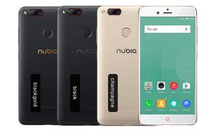 Global firmware ZTE Nubia Z17 Mini 4GB / 6 GB de RAM 64 GB ROM del teléfono móvil Snapdragon de doble cámara de teléfono móvil de 4G LTE FDD Soporte NFC OTA