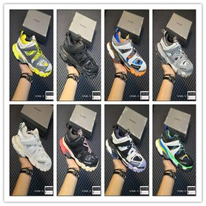 2020 nuovo 3M Triple S pista 3.0 Balenciaga Running Shoes Stampa 3 Designer Shoes Tess Gomma Maille jogging Sport Sneaker 35-459KWP #