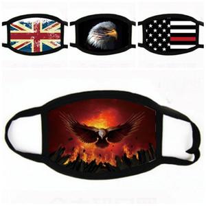 2020 US Trump Masques Visage Amérique Drapeau Imprimé USA Election Independence Day anti-poussière Masque bouche Mode respirateurs En stock 1 8NB E19