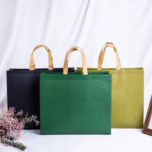 Neue Frauen faltbare Einkaufstasche EcoTote Bag Large Unisex Stoff Non-Woven Canvas-Speicher-Beutel Reusable Grocery Shopping Bags