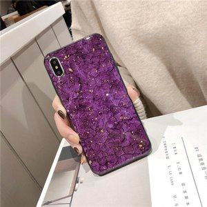 Epoxy Goldfolie Gem Grün Telefon-Kasten für Huawei Honor Mate-20 Pro 9 10 Lite 7C 7A 7X 8X 8 8A 8C mit Ring-Halter-Lanyard-Abdeckung