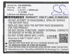 Cameron Sino Batterie BV-T4D haute qualité 2950mAh pour Nokia / Microsoft Cityman, Lumia 950 XL, Lumia 950 XL Dual SIM