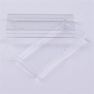 Ciglia acriliche scatola di imballaggio slittamento di apertura cassetto design ciglio scatola di immagazzinaggio ciglia cosmetici vuoto caso organizzatore RRA1261