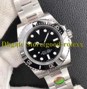 Top Relojes para hombres V10 Versión 904L Steel Men's Automatic Cal.3130 NOOBF N Factory No Father Watch Ceramic Bezel 114060 Dive Eta Wristwatche