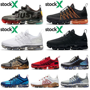 Nike Air Vapormax 2019 Run Utility 2019 Run Utiltiy Women Fasahion Running Shoes Hot Cactus Plant Flea Market Triple Black Orange Black Men Trainers Tn Cushion Des Chaussures