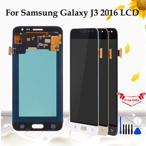 AMOLLED / TFT LCD pour Samsung Galaxy J3 2016 J320 Ecran Tactile Digitizer Affichage pour GALAXY J3 2016 J320 J320FN Outils gratuits