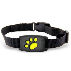Akıllı Pet Köpek GPS AGPS LBS Tracker Bulucu Kablosuz GPS Locator Su geçirmez Anti-Kayıp Alarm MiNi Takip Parça Yaka