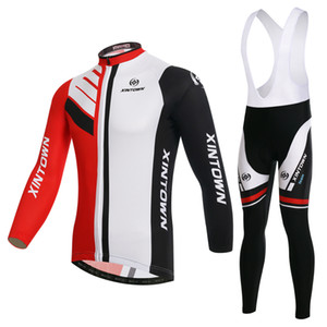 XINTOWN bipolar cycling suit with long sleeve strap outdoor suit bike suit in spring and Autumn