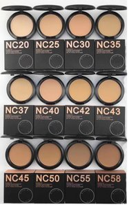 Hot makeup high quality nc 12 color Powders puffs foundation 15g DHL free shipping