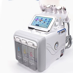 6 IN 1 Hydra Machine Facial piel RF rejuvenaiton microdermoabrasión Hydro dermoabrasión Bio-elevación eliminación de arrugas HydraFacial Spa Machine