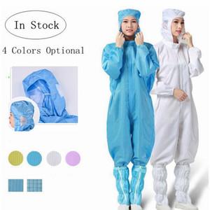 One Piece Schutzkleidung Wiederverwendbare antistatische Kleidung Einweg wasserdichter Schutzkleidung der Kleidung Overall Anzug Hohe Qualität YP339