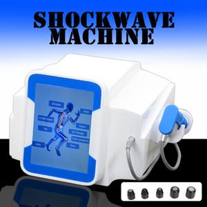 Переносной Shockwave терапия Аппарат Физическая машина для мышц Потеря веса Стимулятор лечение Пневматическая Shockwave EDT 5 бар