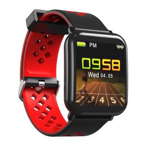 android Smartwatch-Farbdisplay Fitness Tracker Smartwatch Smart Watch Wasserdicht intelligentes Armband mit Herz-Telefonen reloj inteligente
