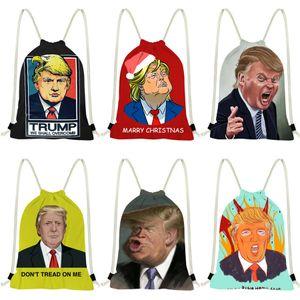 2020 sac à main de Trump Sac à dos Sac à bandoulière Trump Sac à dos d'embrayage en cuir Tote Trump Sacs 40780 # 751