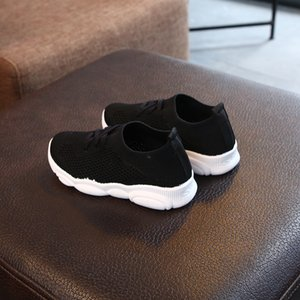 kids sneakers boys shoes girls trainers Children leather shoes white black school shoes pink casual shoe flexible sole fashion1910503217