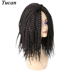 Twist Crochet Marely Braiding Hair Extension For African Black Women Synthetic Afro Hair 14 inches 80g pcs Free Shipping