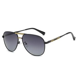 Polarized Night Vision Sonnenbrillen Large Frame Retro Square Sonnenbrillen Klassische Herrenbrillen in Europa und Amerika