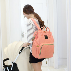 4 colors Mommy Backpacks Nappies Bags Mother Maternity Diaper Backpack Large Volume Outdoor Travel Bags Organizer Free DHL