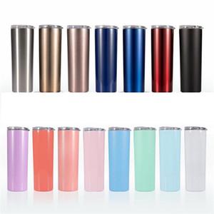 14 tipi di 20 Gusi alta qualità tazza corpo dritto 304 creativo in acciaio inox coibentato tazza tazza di viaggio auto bere T3I5579