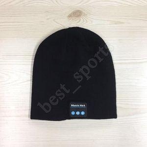 20pcs Música Bluetooth Beanie Hat Smart Wireless Headset Headphone Cap Microfone Handsfree Música Knit Hat ZZA1434