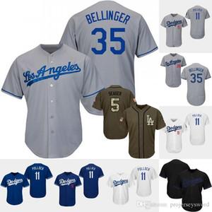 Mens Los Angeles Jersey 11 A. J. Pollock 21 Walker Buehler 22 Clayton Kershaw 32 Sandy Koufax 74 Kenley Jansen jerseys de béisbol
