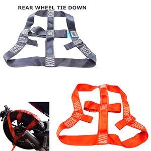 Universal motocicleta Tie Down Strap traseira roda transporte Strap baixo Tie