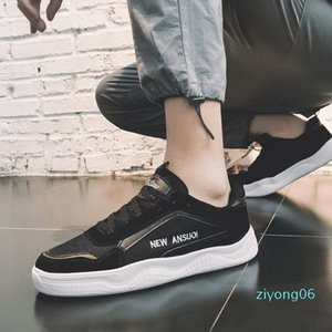 Brand Men Sneakers Fashion Casual Shoes High Quality PU+air Mesh Shoes Man Loafers Low-top Breathable Male Trainers Promotion z06