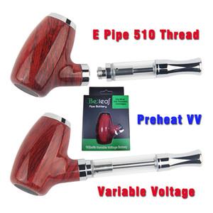 E Tubos vaporizador Mech Mod Cigarros Vape Cartucho de 900 mAh 510 de rosca variable de voltaje de la batería Kit Ecig Beleaf cigarrillos électroniques