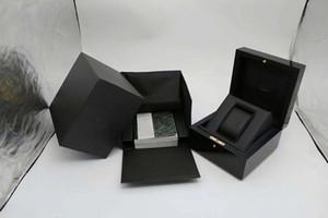 مبيعات نمط جديد جودة عالية AP الأصلي الفاخرة الخشب مربع أزياء العلامة التجارية ووتش مربع عارضة المجوهرات مربع علب الهدايا حزمة
