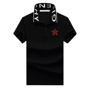 2020 ropa para hombre marca de diseño de verano polo bordado de las tapas de lujo polos para hombre de la moda camisa de los hombres High Street mujeres ocasionales primer golpe