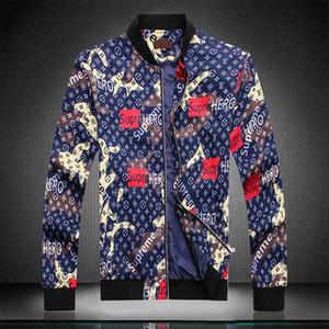 2019 MA-1 Männer Jeansjacke Fashion Designe Jacke Luxuy Marke dünnes Motorrad-verursachende Mens Denim Coats Hip Hop Vintage Style Jeansjacke