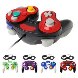 Com fio gc controlador para ngc console gamecube computador portátil para nintend ngc gamepad controle pc gc joystick portátil