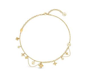 Le printemps et l'été 2020 collier de mode pour dames nouveau design collier de fleurs à quatre feuilles