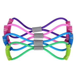 8-символьная Stretch Rope Восемь символов груди Расширения Пластиковой Грудь Йог резинка Натяжная грудь
