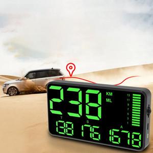 Araba Saat Rakım Kilometre Kamyon Hediye Dijital Kilometre sayacı Fonksiyonlu Aşırı hız Alarmı Büyük Ekran Kilometre head up ekranı