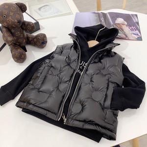 Kızlar erkek Yelek Bebek Bebek Aşağı Yelek Kolsuz Çocuk Sıcak Ceket ücretsiz kargo gençlerin kış Casual Yelek Ceket Çocuklar Kabanlar Palto