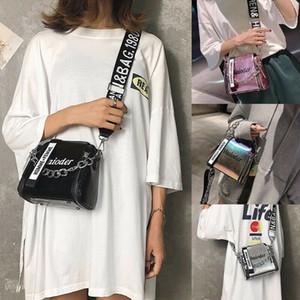 Новые женские сумки Bling Lovely Handbag Messenger Сумки на ремне для дамского кошелька Fashion Messenger Лазерная дорожная сумка для путешествий