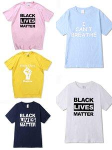 I Cant Breathe! Mens Designer Top T-shirt Femmes lettres Impression Casual T-shirt d'été Hoodie Paris Fan Hommes Luxe T-shirt Taille S-2TG # 616