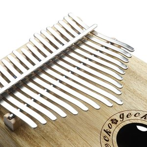 17 Key Kalimba Wooden Thumb Piano Kalimba B Music Instrument Toy Gift Camphor Bamboo Thumb Piano