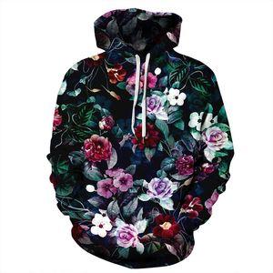 Tasarımcı hoodie 2019 yeni moda lüks kazak çiçek Baskılı Hoodies causual eşofman hoody ceket cepler ile Ücretsiz Kargo S 3xl