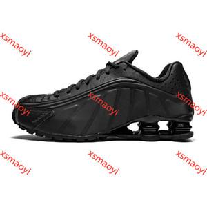 Nuove scarpe da corsa Hococal Colore metallico consegnare R4 Mens Chaussures OZ NZ 301 Sport Sneakers Bianco Nero aumento cuscino Zapatillas 40-46