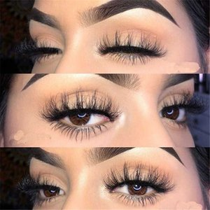 10 Pairs 3D Mink Hair False Eyelashes Natural Thick Long Eye Lashes Wispy Makeup Beauty Extension Tools