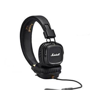 Marshall Major II wired Headphones With Mic Deep Bass DJ HiFi Headphone Headset Professional DJ Monitor Earphone with retail package