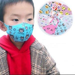Máscaras miúdo face Boca contra pó Máscara Prevenção de pólen Anti PM2.5 Máscaras Multifunction lavável Máscara Mantenha Máscara criança limpa Outdoor ZYQ545