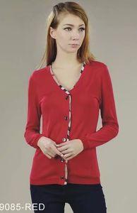 Yüksek Kalite Kış Giyim Çizgili T-Shirt Bahar Güz kadın Uzun Kollu Yuvarlak Tees Tops Ofis İş Lady İnce Klasik T-Shirt Tops