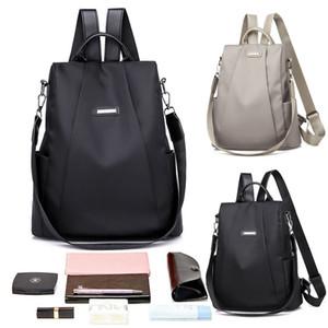 여성 가죽 사첼 여행 학교 배낭 여자 배낭 숄더 가방 핸드백