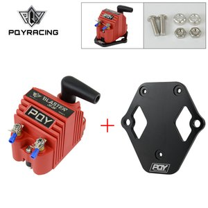 PQY-Evrensel Blaster Ss 12 V Yüksek Çıkış Harici Erkek E-Core Ateşleme Bobini Ile Kitleri Adaptörü + Braketi Dağı Kiti