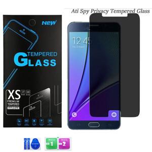 آيفون 12 11 برو ماكس XS XR 7 6S زائد 8 LG ستيتلو 6 K51 سامسونج A51 A71 A21 الخصوصية الزجاج المقسى مكافحة جاسوس حامي الشاشة 0.33 ملليمتر 9h