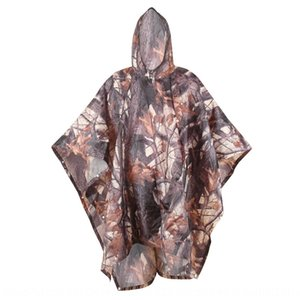 pLult 210T polyester Taft multifunctional pu camouflage raincoat Backpack outdoor hiking poncho 210T polyester Taft multifunctional pu camou